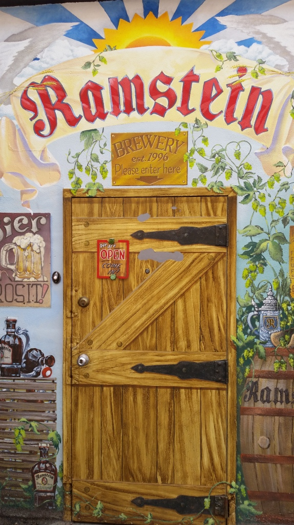 Ramstein Brewery Door